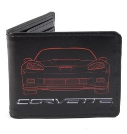 Accessories C6 Corvette Outline Wallet