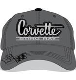 Apparel Corvette Sting Ray Hat Gray
