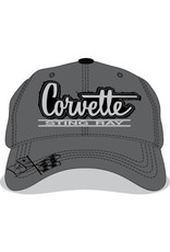 Apparel Corvette Sting Ray Hat Gray