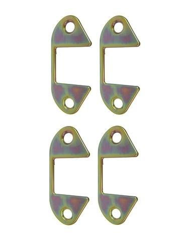 Body 1956-62 Door Hinge Cover 4 Piece Set