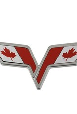 Accessories C6 Emblem Overlay Canadian Flag