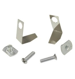 Body 1958L-62 Door End Cap Mounting Kit with Weatherstrip Retainers