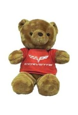 Collectibles Corvette Plush Bear with C6 Red T-Shirt
