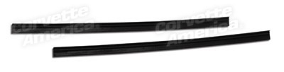 Weatherstrip 1963-67 Vent Window Rear  Weatherstrip Coupe Pair