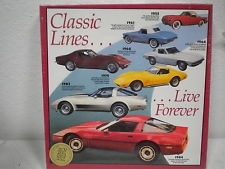 Collectibles 1953-84 Corvette Puzzle 600 Piece