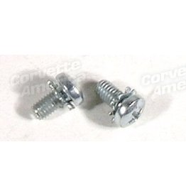 Electrical 1963-67 Turn Signal Cancel Cam Screw with Lock Washer Pair