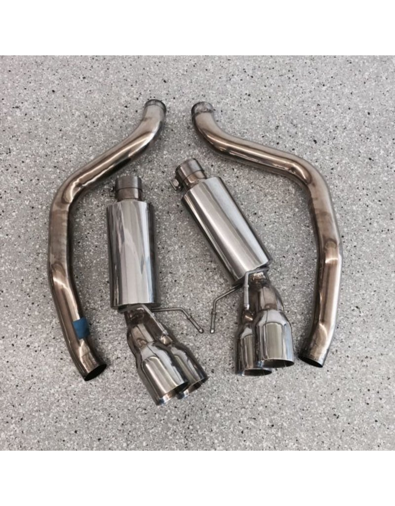 Consignment 2005-13 Quad Power Exhaust System for Manual Transmission Used