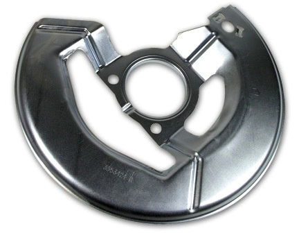 Brakes 1965-75 Front Rotor Shield Correct with GM# and Delco-Moraine Stamp Right Hand