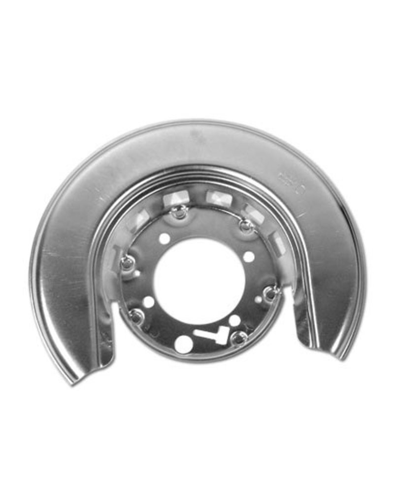 Brakes 1965-75 Rear Rotor Shield Correct with GM# and Delco-Moraine Stamp Left Hand