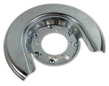 Brakes 1965-75 Rear Rotor Shield Correct with GM# and Delco-Moraine Stamp Right Hand