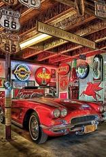 """Collectibles 1962 Corvette Puzzle 'World's Smallest' 1000 Piece 11 1/2"""" X 16 1/2"""""""