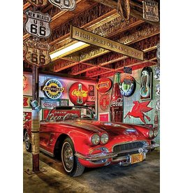 "Collectibles 1962 Corvette Puzzle 'World's Smallest' 1000 Piece 11 1/2"" X 16 1/2"""