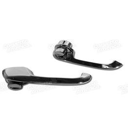 Body 1956-62 Door Handle Assemblies Outside Pair