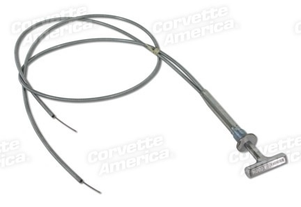 Body 1958-62 Hood Release Cable Assembly