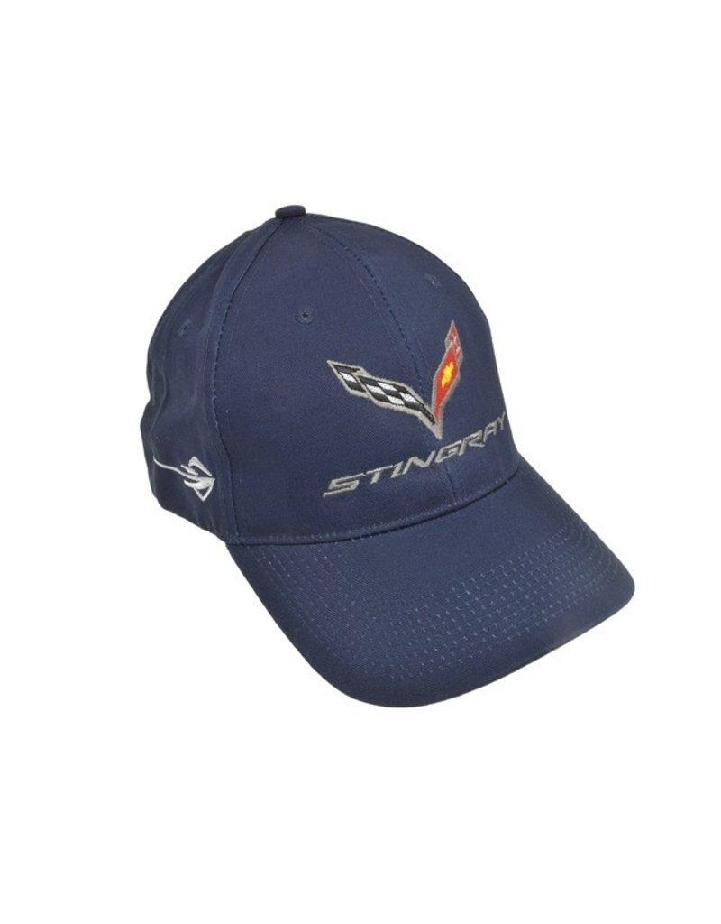 Apparel C7 Stingray Hat Navy (Night Race Blue)