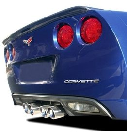 Accessories C6 Lettering Set Chrome-Dash/Rear Acrylic