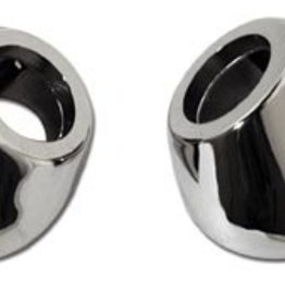 Body 1953-57 Wiper Arm Chrome Spacers Pair