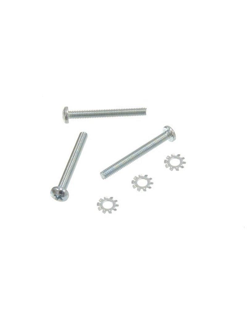 Steering 1969-82 Horn Contact Screw Set 6 Piece with Tilt/Tele