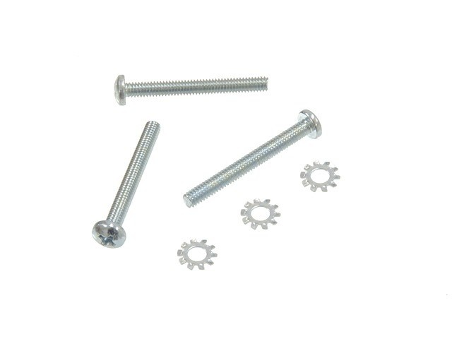 Steering 1969-82 Horn Contact Screw Set 6 Piece with Tilt/Tele