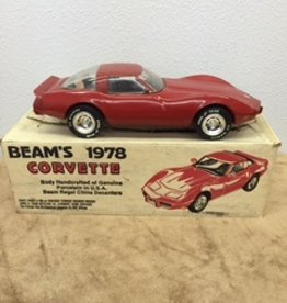 Collectibles 1978 Jim Beam Decanter Red 'Sealed'