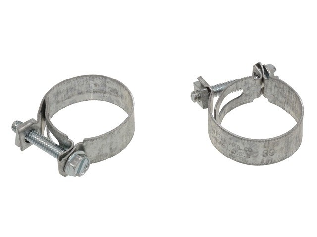 Cooling 1965-67 Water Pump Bypass Hose Clamps BBC Pair