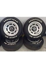 Consignment 1976-79 Aluminum Wheels with Goodyear Radial Tires Set of 4 Used