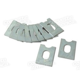 Body 1953-62 Body Mount Shims Metal 10 Piece Set