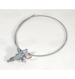 Body 1958-62 Wiper Control Switch with Stainless Cable