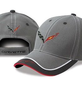 Apparel C7 Cap W/Logo Gray Color Block