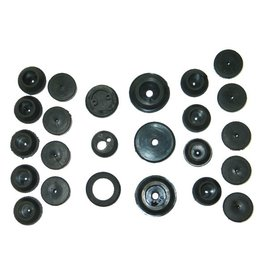 Body 1956-57 Firewall and Body Grommet Set 24 Piece