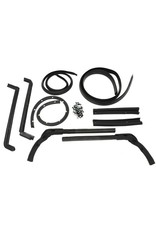 Weatherstrip 1963-67 Hardtop Weatherstrip Kit 9 Piece with Fasteners
