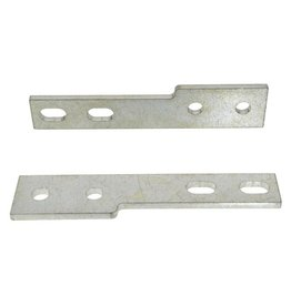 Body 1958-60 Grille Bar End Mounting Bracket Pair