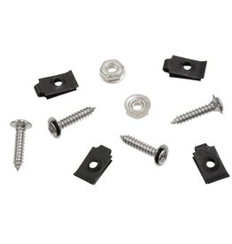 Body 1970-72 Front Fender Louver Screw, Retainer and Nut Set