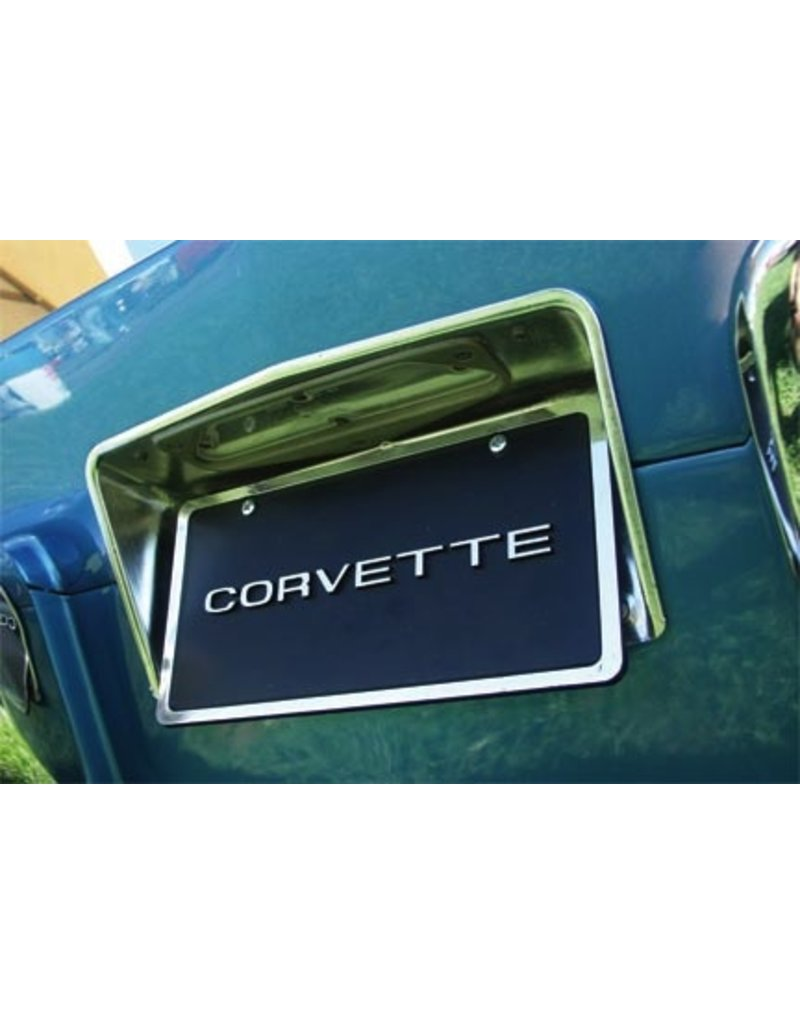 Body 1963-67 License Plate Bezel