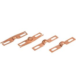 Body 1968-82 Wiper Motor Transmission Pivot Plate Set of 4