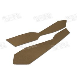 Interior 198-L-82 Console Side Trim Panels Pair