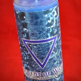 Hex Element of Water 7-Day Candle