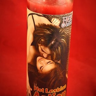 Hex Hot Lesbian Action 7-Day Candle
