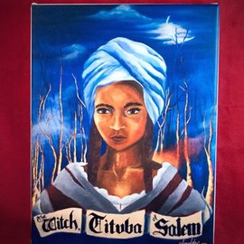 Hex Tituba Print on Canvas - Small - 9x12