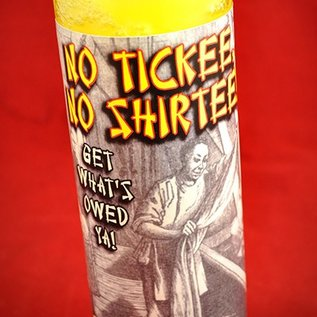 Hex No Tickee No Shirtee 7-Day Candle