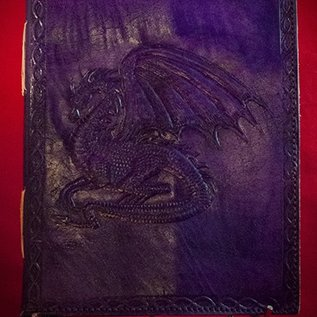 Hex Small Dragon Journal in Purple