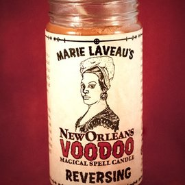Hex Reversing - Marie Laveau's New Orleans Voodoo Spell Candle