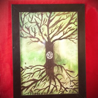 Hex Tree of Life by Connie Kelleher