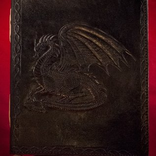 Hex Small Dragon Journal in Black