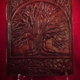 Hex Small Tree of Life Journal in Brown