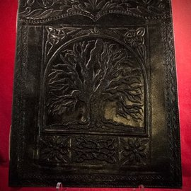 Hex Large Tree of Life Journal in Black