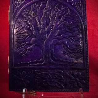 Hex Large Tree of Life Journal in Purple