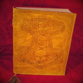 Hex Small Mjolnir Journal in Yellow