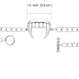 Hex Vampire Fangs Bracelet - Worldwide Exclusive to HEX