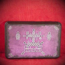 Hex Baron Samedi Veve Pendulum Board